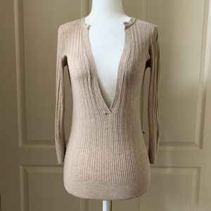 GAP Deep V Sweater